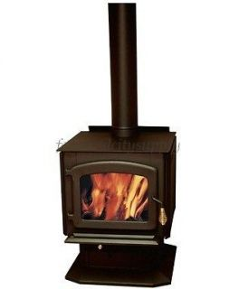 STOVE BUILDERS INTERNATIONAL DB03040 BALTIC WOOD STOVE W/ BLOWER 85000