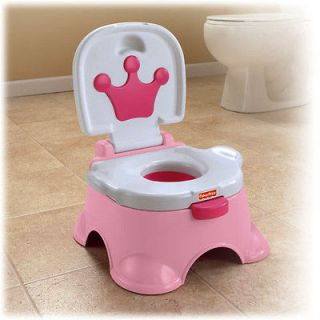 New Fisher Price N3428 Royal Pink Princess Pink Stepstool Stool