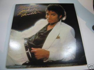 Michael Jackson Thriller Album Vinyl Album
