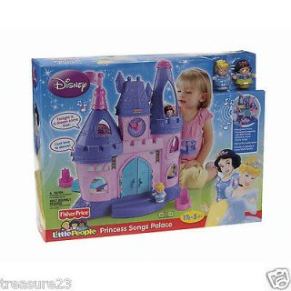 fisher price little people disney princess songs palace in Little