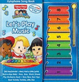 Fisher Price Little People Lets Play Music w/ Xylophone & Song Book