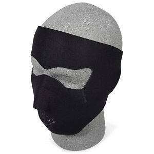 Black Color NEOPRENE COLD WEATHER FULL FACE MASK   Skiing/Biking