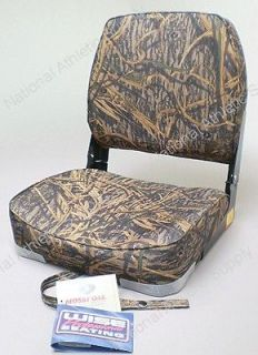 Wise Fold Down Camo Fishing & Duck Hunting Boat Seat