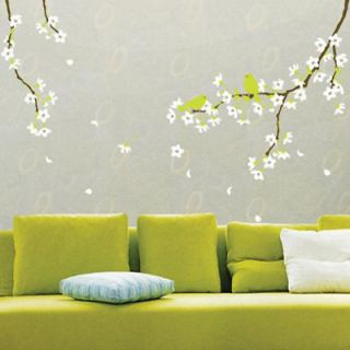 Newly listed White Flowering Tree Vinyl Art Wall Decor Sticker Decal