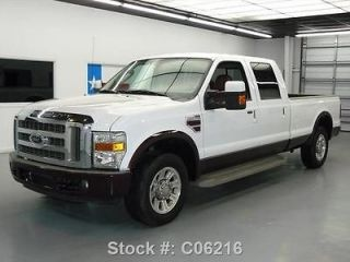 Ford : F 250 WE FINANCE!! 2008 FORD F 250 KING RANCH CREW DIESEL LONG