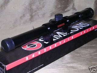 SIMMONS .22 4X15 RIFLE SNIPER SCOPE WITH RINGS NR
