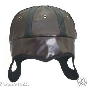vintage leather football helmet in Sporting Goods
