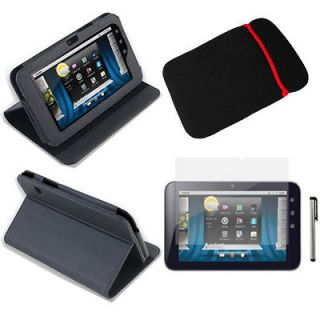 Skin Stand Case Cover+Protector+Pen+Sleeve For Dell Streak 7 Tablet