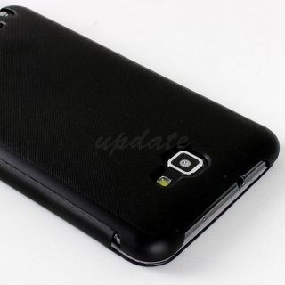 Slim Leather Flip Case Cover for Samsung Galaxy Note I9220 N7000