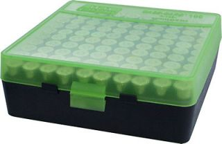 MTM Case Gard™ New MTM Plastic Ammo Box 100 Round 9mm / 380 P100 9