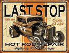 SIGN HOT RAT ROD FORD DEUCE COUPE ROADSTER SEDAN MODEL A T BUCKET 1696