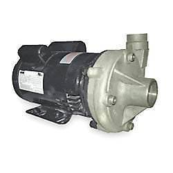 DAYTON Stainless Steel High Head Centrifugal Pump, 1 HP, 115/230V,