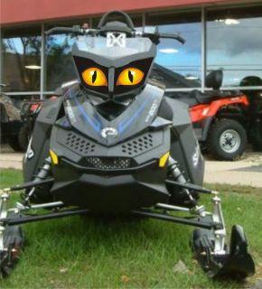 Ski Doo rev headlight decal kit XP MX  Z RENEGADE SUMMIT FREESTYLE GSX