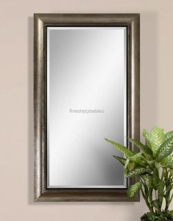 Oversize 69 SILVER Full Length Dressing Wall Mirror Extra Large