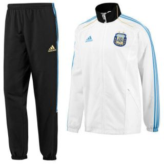 adidas ARGENTINA WC 2010 Presentation Suit SOCCER NEW
