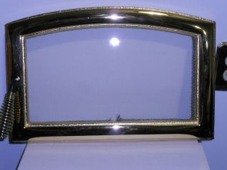 WOOD STOVE INSERT 2200I NEW GOLD ARCHED FREED DOOR WITH GLASS & HANDLE
