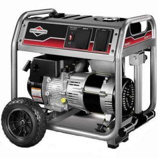 4375 Watt 250cc Gas Powered Portable Generator With CHAMPION Wheel Kit