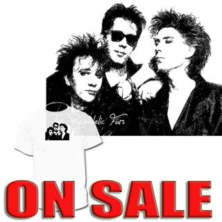 The Psychedelic Furs T shirt The Clash Blondie Drawings Are Available