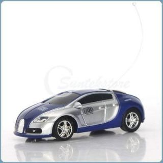 Mini RC Radio Remote Control Racing Car Toy Vehicles Cool Royal Blue