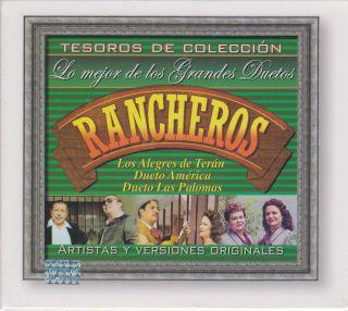 Rancheros Alegres De Teran Dueto America CD NEW 3 Disc Set 45 Songs