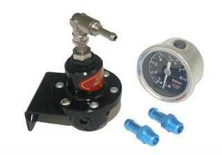 Turbo Fuel Pressure Regulator Oil Gauge Meter RX7 S13 S14 black