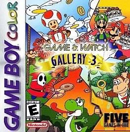 Game & Watch Gallery 3 (Nintendo Game Boy Color, 1999)