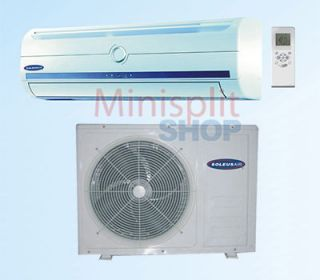 Mini Split Air Conditioner A/C + Heat Pump 9000 btu Soleus KFTHP 09