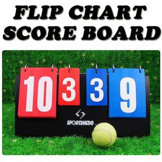 Flip Chart Scoreboard Sports Basketball Table tennis