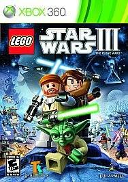 LEGO Star Wars III The Clone Wars 3 for Xbox 360 Video Game Brand New