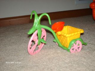 Newly listed Strawberry Shortcake doll bike trike w/ basket for their