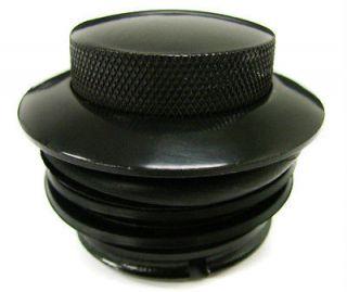 BLACK GAS FUEL TANK FLUSH POP UP CAP FOR HARLEY DAVIDSON SOFTAIL DYNA