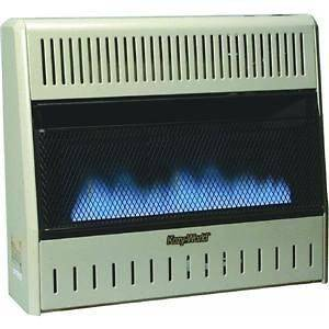 GWD308 30K Vent Free Dual Fuel LP or Natural Gas Wall Mount Heater