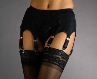 Plain Vintage Style Suspender/Garter Belt, 4.6.8.10.12.14 Straps