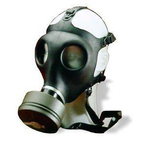 Israeli Civilian Gas Mask With Nato Filter New
