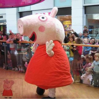 Peppa Pig And George Pig Costume Mascot 2pcs Clothing Fancy Dresses