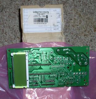 GE MICROWAVE PCB CONTROL BOARD WB27X10573 (NEW) JT