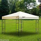 New Large Steel Frame Grill Gazebo Outdoor Bar Vented Hard Top Roof 8