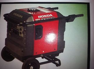 Honda EU3000i generator 2 Wheel Telescoping Handle Kit