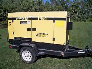 wacker generators in Business & Industrial