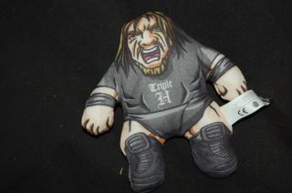 Talking Triple H HHH WWE Plush Figure from Burger King Wrestling BK