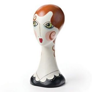 17.5 Faboo Dapper Dan Vintage Style Mannequin Head Figure