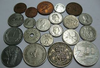 Newly listed LOT 20 WORLD COINS MEDAL SWISS 700 UK HALF CROWN HONG
