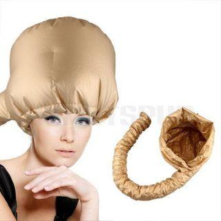 Gold Salon Barber Soft Hair Dryer Bonnet Hood Attachment