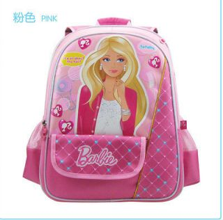 Disney barbie school girls kids backpack bag bookbag