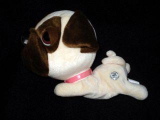 The Dog Artists Collection 2002 Plush Puppy Dog Beagle? Bulldog?