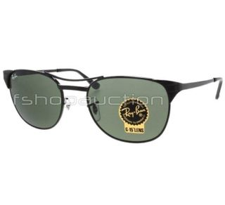 RB 3429 002 53 Signet Black G15 Wayfarer Retro Mens Womens Sunglasses