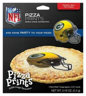 NFL Green Bay Packers ~ Edible Pizza Prints Customize Your Pizza Today