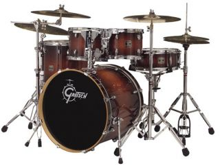 Gretsch Catalina Birch 5 Piece Drum Kit Walnut Burst   FLOOR MODEL