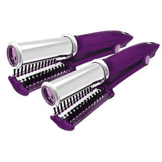 Newly listed 2 Purple Large Barrel Instyler BUY 1 GET 1 IN STYLER FREE