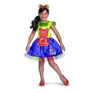 NEW GIRLS GUMMY BEAR CANDY HALLOWEEN Costume S